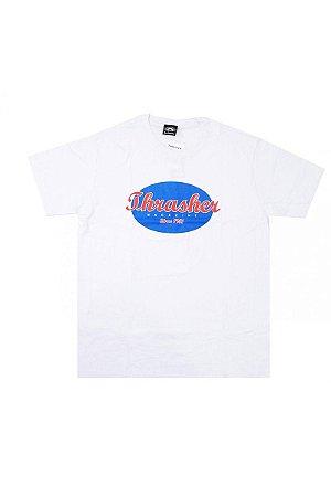 Camiseta Thrasher Oval Script White Original