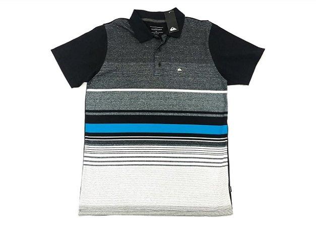 Camiseta Quiksilver Polo Everyday Stripe Original