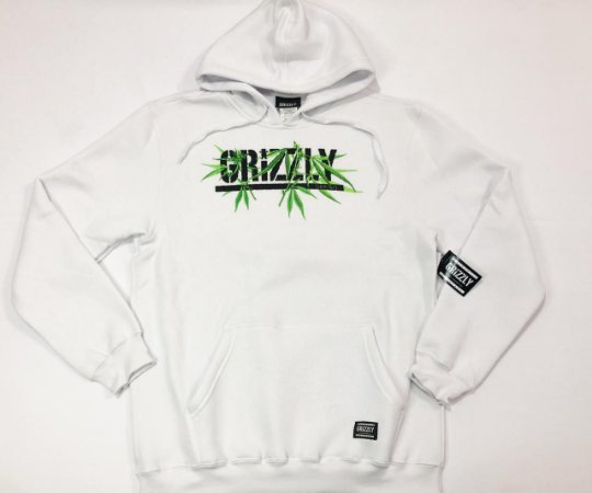 Moletom Grizzly Seed Stamp Hoodie Original Tam. G