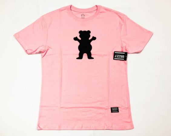 Camisa Grizzly Og Bear Pink Original