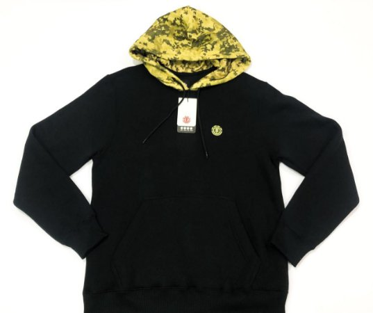 Moletom Element Camo Head Canguru Fechado Original