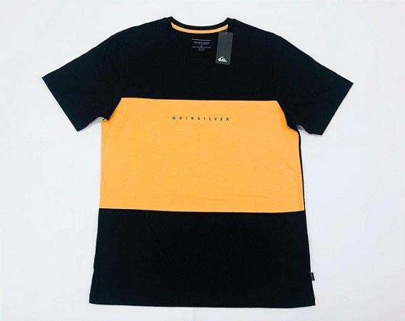 Camiseta Quiksilver Especial Division Block Original
