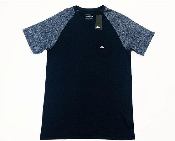 Camiseta Quiksilver Especial Raglan Sleeve Stripe Original