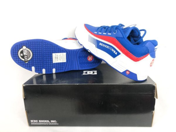 Tênis  Dc Shoes Legacy 98 Slim Blue Red Original