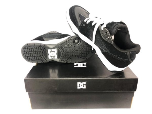 Tênis Dc Shoes Maswell Imp Black/white Original