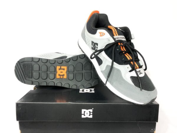 Tênis Dc Shoes Kalis Lite Se  Imp Black/orange Original