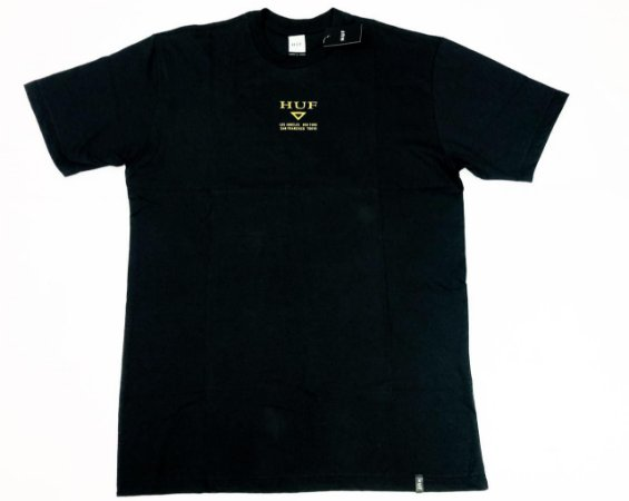 Camiseta Huf Hufex Black Original