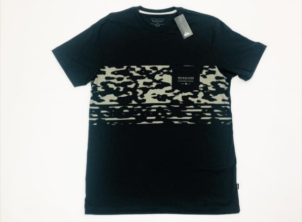 Camiseta Quiksilver Especial Microdose Camo Original