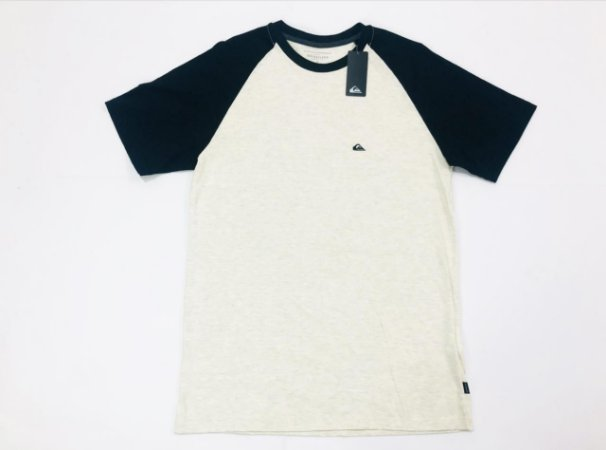 Camiseta Quiksilver Especial Raglan Everyday Original