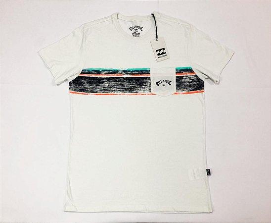 Camiseta Billabong Premium Spinner Com Bolso Original
