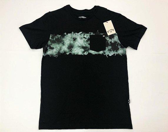 Camiseta Billabong Chest Stealth Com Bolso Original