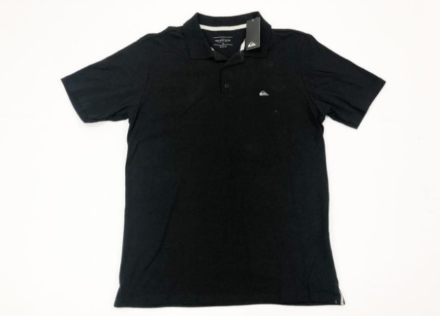 Camisa Quiksilver Polo Logo Bordada Cotton Original