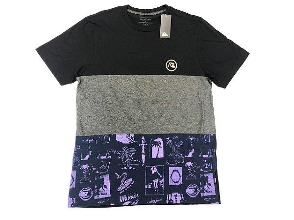 Camiseta Quiksilver Especial Strange Pattern Original