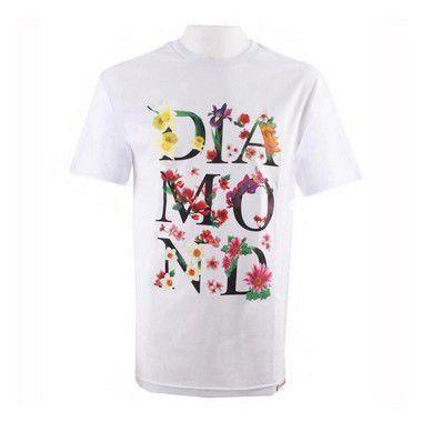 Camisa Diamond Botanical White