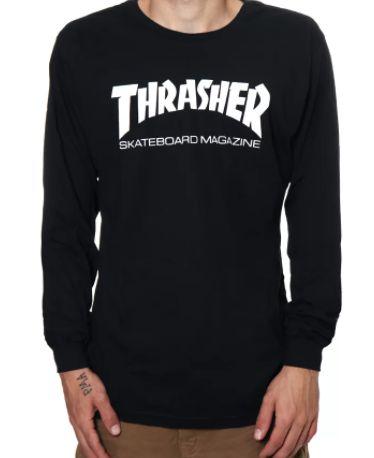 Camiseta Thrasher Magazine Manga Longa