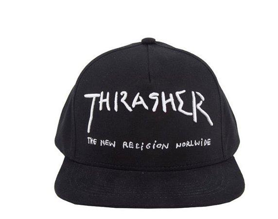 Boné Thrasher New Religion Snapback