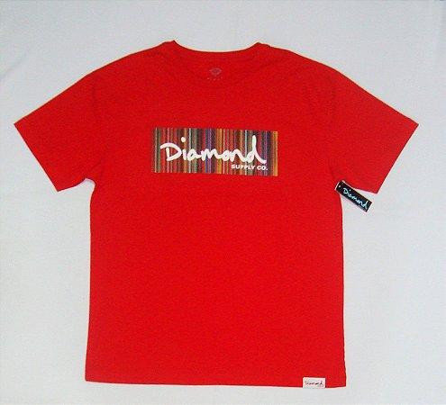 Camiseta Diamond Color Ply Box Logo Original