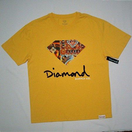 Camiseta Diamond Ethiopian Gold Masculina