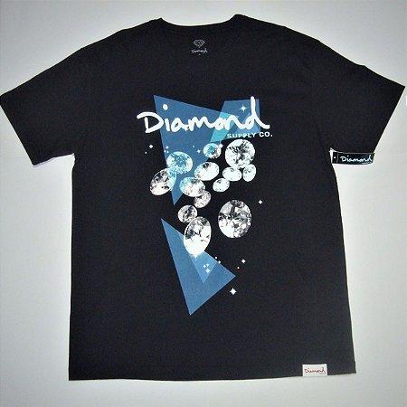 Camiseta Diamond Galatic Preta Masculina