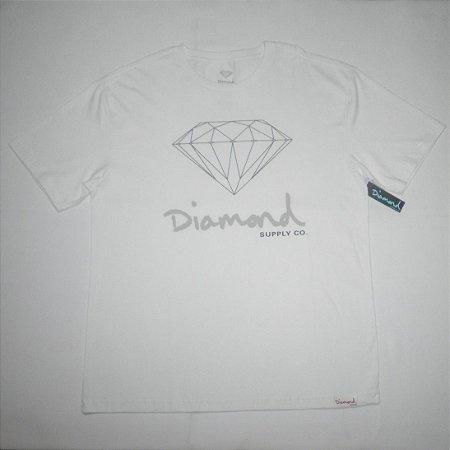 Camiseta Diamond OG Sing Branca Masculina