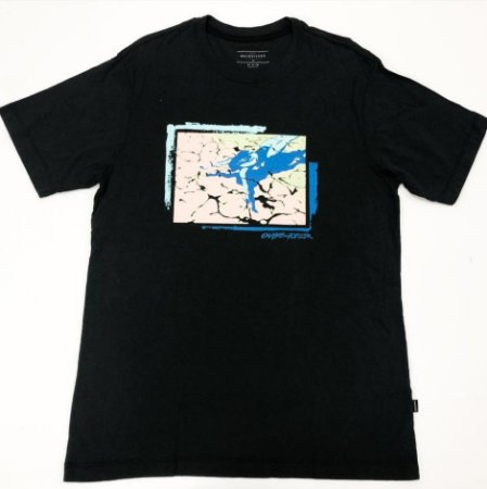 Camiseta Quiksilver Esp LA Preto
