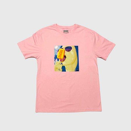 Camiseta DGK Snow Days Pink