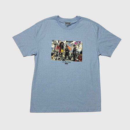Camiseta DGK Trenchtown Power Blue