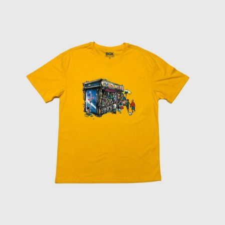 Camiseta DGK Daily News Amarela