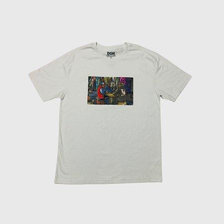 Camiseta DGK Our Block Branca
