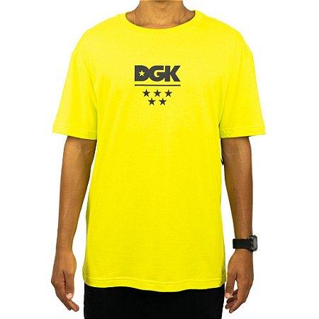 Camiseta DGK All Star - Verde Fluorescente