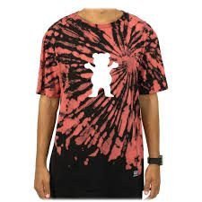 Camiseta Grizzly OG Bear Fruit Puch Tie Dye Multi