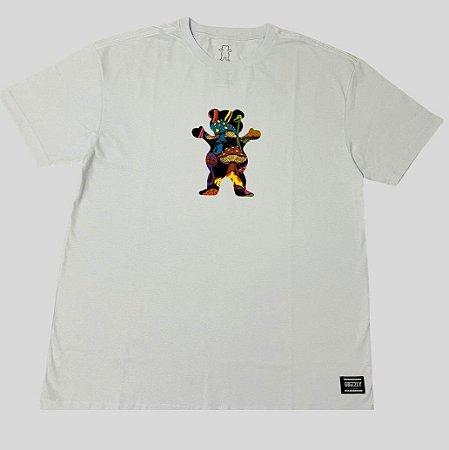 Camiseta Grizzly Fungi OG Bear Branca