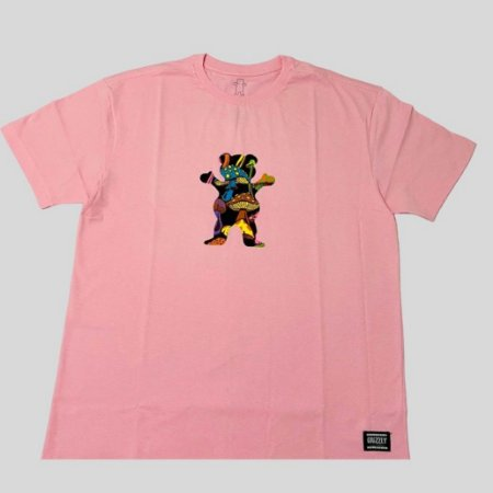 Camiseta Grizzly Fungi OG Bear Rosa