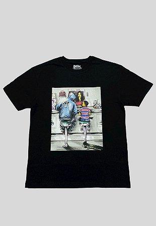 Camiseta DGK Ice Crem Shop Preta Masculina
