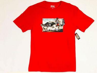 Camisa DGK Burnout Vermelha Masculina