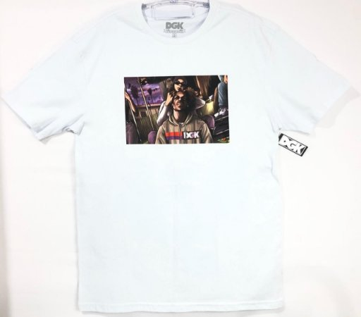 Camisa DGK Cold As Ice White Masculina