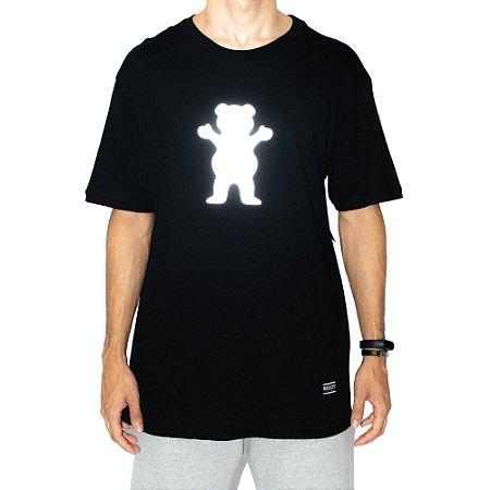 Camiseta Grizzly Og Bear Preta Masculino