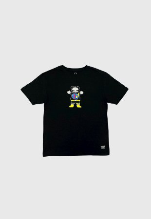 Camiseta Grizzly Chris Cole Robot Preta