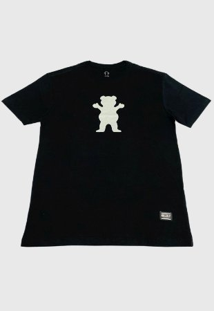 Camiseta Grizzly Og Bear Reflective Preta