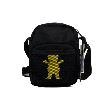 Shoulder Bag Grizzly Flame Thrower Preta