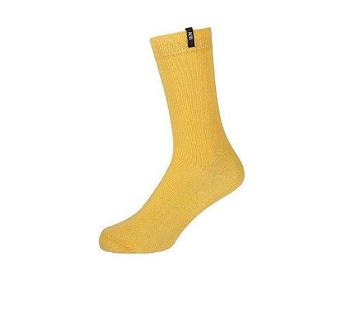 Meia Colors Básica Amarela Altai