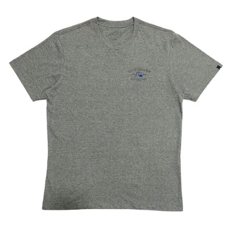 Camiseta Quiksilver Pacific Rest Cinza Masculina