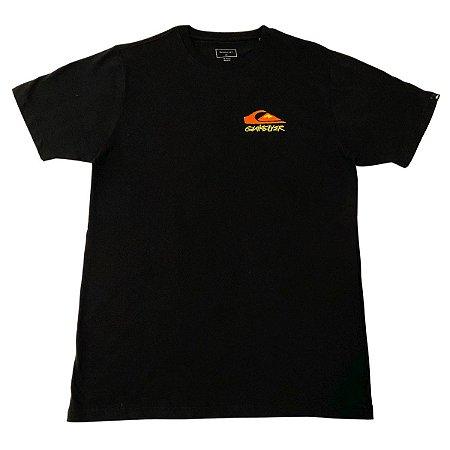 Camiseta Quiksilver Fantasy Beach Preta Masculina