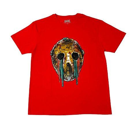 Camiseta DGK Hooligan Vermelha Masculina