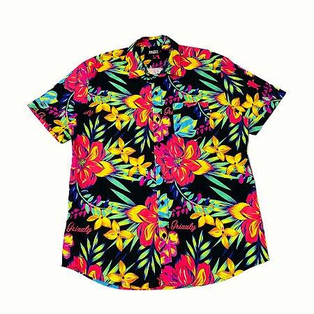 Camisa Grizzly Botão Maui Original Nova Coleção