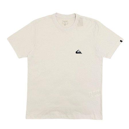 Camiseta Quiksilver Essentials  Branca Masculina