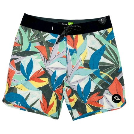 Bermuda Quiksilver Boardshort Highline Mystic Sessions 18 Azul Masculina