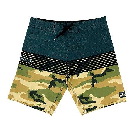 Bermuda Quiksilver Boardshort Everyday Pack Camuflado Masculina