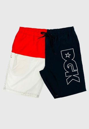 Shorts DGK Slipt Color Block Masculina