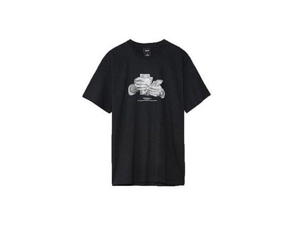 Camiseta Huf Silk Criminology Preto